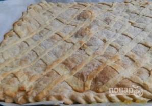 Пирог с лимоном из слоеного теста - фото шаг 10