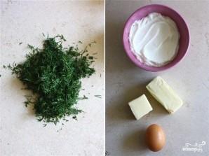 Печенье с йогуртом и укропом - фото шаг 1