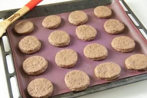 Шоколадное печенье с вареной сгущенкой - фото шаг 7