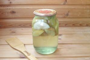 Компот из яблок с лимонной кислотой на зиму - фото шаг 6