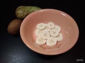 Десерт из творога и фруктов - фото шаг 2