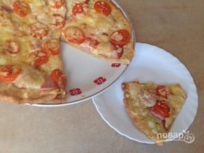Тесто для пиццы с творогом - фото шаг 8