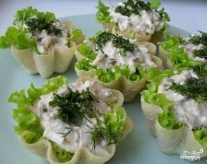 Тарталетки с тунцом и сыром - фото шаг 3