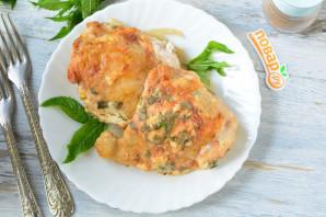 Курица с мятой в духовке - фото шаг 8