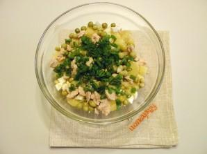 Салат из печени трески - фото шаг 4