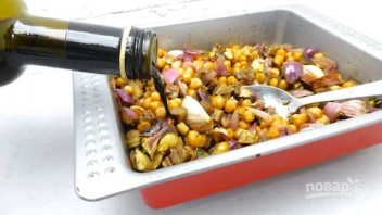 Простой овощной салат - фото шаг 4