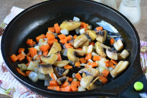 Гречка с грибами по-царски - фото шаг 5