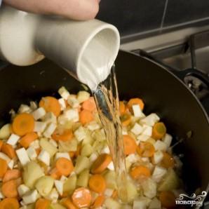 Французский гороховый суп - фото шаг 12