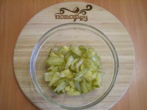 Салат с печенью куриной - фото шаг 3
