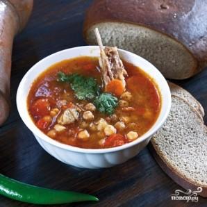 Нутовый суп - фото шаг 8