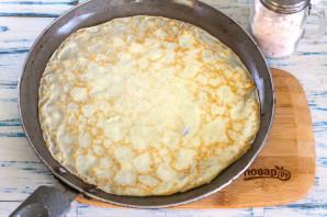 Блины с творожным сыром - фото шаг 5