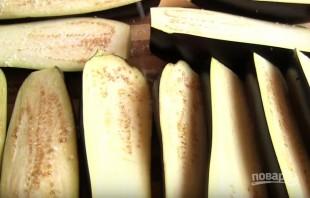 Запеканка из баклажанов с фаршем и сыром - фото шаг 1