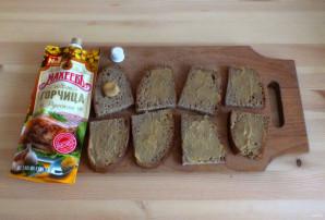 """Горячие бутерброды с беконом и горчицей """"Махеевъ"""" - фото шаг 3"""