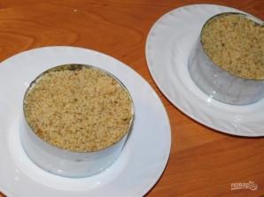 Салат с курицей, грибами и грецкими орехами - фото шаг 3