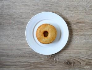 Пончики во фритюре с шоколадом - фото шаг 5