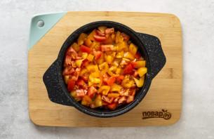 Овощное рагу с нутом - фото шаг 5