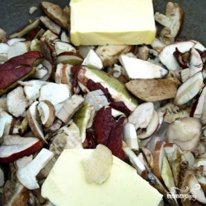 Пассерованный грибной суп - фото шаг 2