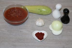 Тушеные кабачки с фасолью - фото шаг 1