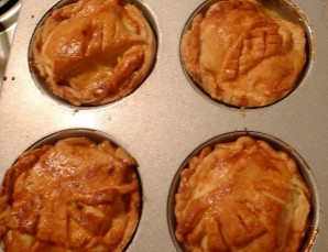Пирожки с яблоками - фото шаг 10