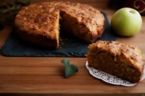 Морковный пирог с яблоками - фото шаг 10
