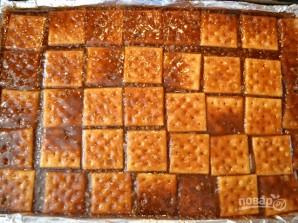 Десерт из крекеров с шоколадом - фото шаг 6
