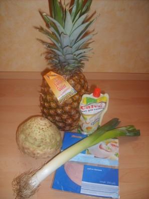 Салат из сельдерея и ветчины - фото шаг 1