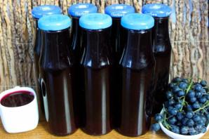 Виноградный сок на зиму в домашних условиях - фото шаг 6
