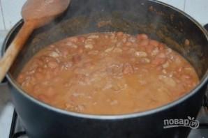 Зимний суп с мясом - фото шаг 7