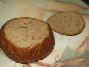 Суп-гуляш в хлебе - фото шаг 4