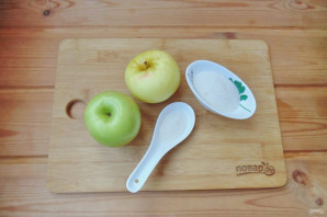 Компот из яблок с лимонной кислотой на зиму - фото шаг 1