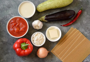 Овощная лазанья от Джейми Оливера - фото шаг 1
