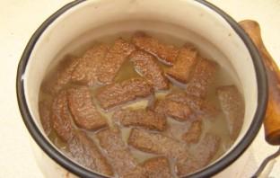 Квас из черного хлеба - фото шаг 3