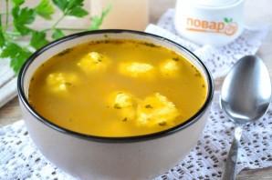 Суп с тестом - фото шаг 11
