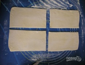 Слоеный торт со сгущенкой - фото шаг 3