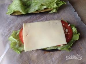Сэндвич из баклажана - фото шаг 7
