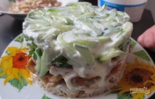 Салат из курицы с корейской морковью - фото шаг 6