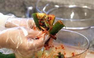 Кимчи с огурцом - фото шаг 5