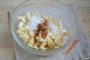 Яблочный штрудель из слоеного теста - фото шаг 2
