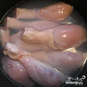 Куриные ножки золотистые - фото шаг 1