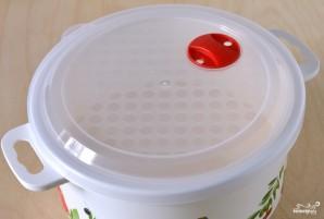 Творожный пудинг в микроволновке - фото шаг 2