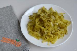 Рыбный суп с солеными огурцами - фото шаг 4