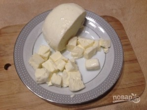 ПП-паста из цукини с курицей и моцареллой - фото шаг 6