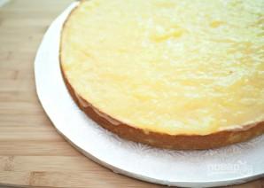 Торт из готовых коржей с фруктами - фото шаг 1