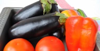 Cалат из печеных овощей - фото шаг 1