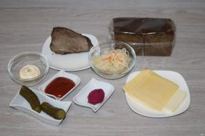 """Сэндвич """"Рубэн"""" - фото шаг 1"""