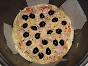 Пицца с помидорами в мультиварке - фото шаг 6
