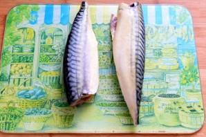 Рулетики из скумбрии в горчичном соусе - фото шаг 1