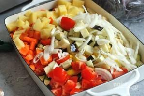 Запеченные овощи на гарнир - фото шаг 2