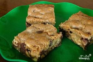 Пирожные с шоколадом и карамелью - фото шаг 4