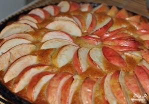 Постная коврижка с яблоками - фото шаг 3